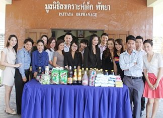 Holiday Inn Pattaya Sales & Marketing Department recently visited Pattaya Orphanage to donate necessities such as cooking ingredients and baby products to the institute as part of their commitment to support and care for local community needs.