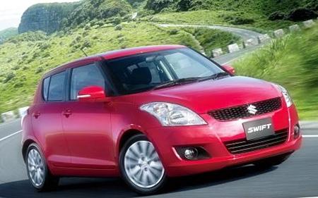 Suzuki Swift eco-car.