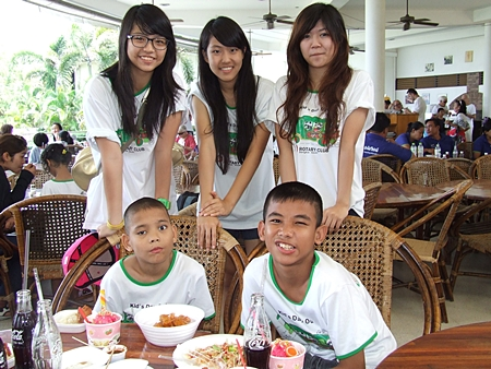Kind-hearted young women from Bangkok are eager to help those less fortunate.