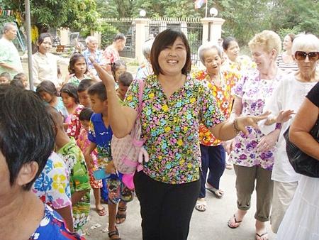 Fountain of Life Songkran Celebration.