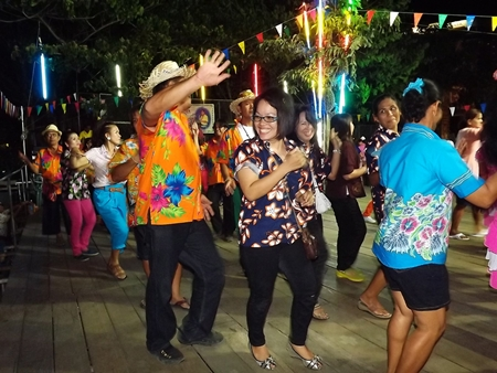 Residents truly enjoy the Sawang Silp traditional dance.