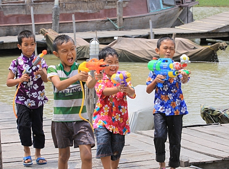 The annual Songkran festival, which heralds the traditional beginning of the Thai New Year, begins today throughout the country.  Locally, however, the official celebrations take place nearly a week later, on April 18 in Naklua and April 19 in Pattaya.