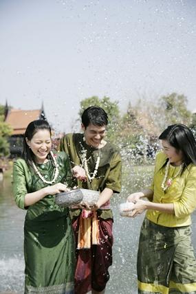Songkran fun begins today and runs through April 20.