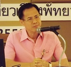 Chonburi Deputy Mayor Pongsak Preechawit.