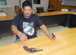 Thawatchai Jaengphon has been arrested for illegally possessing a firearm within city limits.