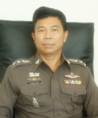 New police chief, Col. Dhamnoon Munkong.
