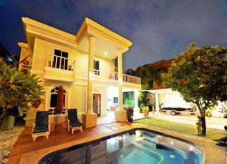Pool villa, Pratumnak.