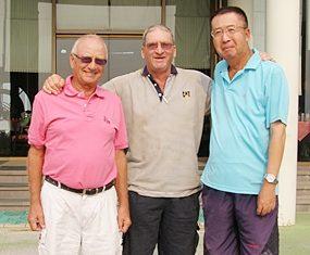 Jan Lovgreen, Peter Blackburn & Takeshi Hakozaki.