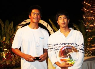 Keerati Bualong, left, TOG Regatta regular and Asia Pacific Laser Champion, is set to represent Thailand at London 2012 after taking part in an upcoming Olympic Qualifying event in May.