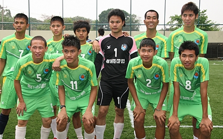 The Banglamung Boys Home team came in fourth place.