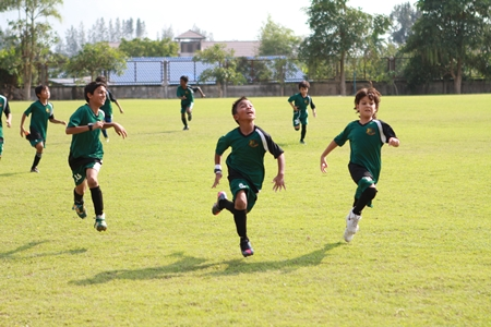 GIS's football stars celebrate another goal!