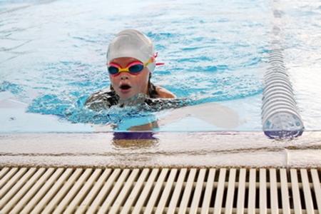One of Garden's top swimmers.