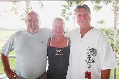 John, Suzi and Rosco.