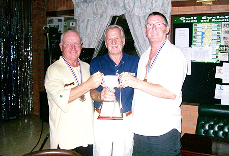 Joint winners Brumi John and Ken.