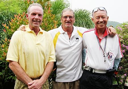 Henrik Aargaard, Peter Blackburn & Kenny Chung.
