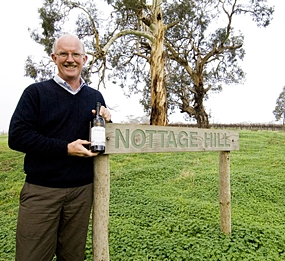 Bill (William) Hardy, winemaker and company ambassador since 1972.