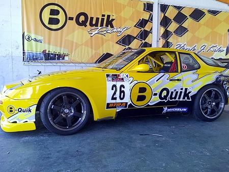 Henk Kiks B-Quik Porsche 944.
