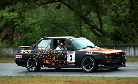Gavin Charlesworth's wide-body E30 - pic credit Dr. Jeff Harper.