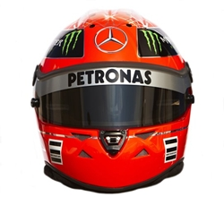Guess whose helmet.