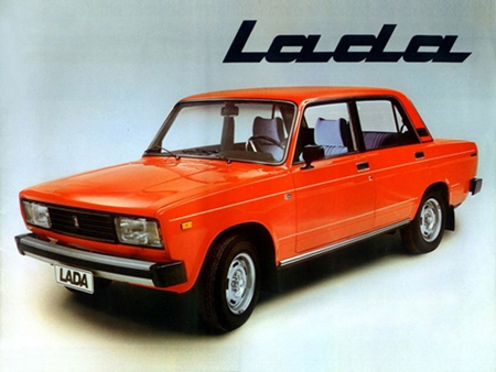 The Late Lamented Lada.