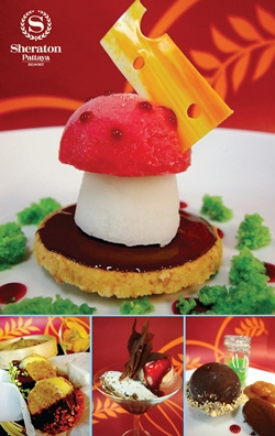 Delicious ice cream & sorbet creations at Sheraton Pattaya Resort.