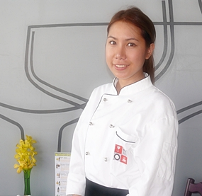 Head Chef Paveena.