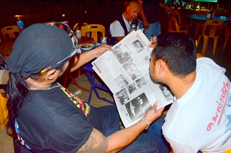 Bikers read about the Sakolyuth family's plight in the Pattaya Mail.
