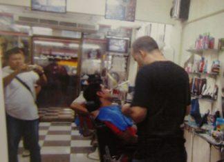 Iraqi Matham Jabar Jooda Al-Omairi has been arrested for the heinous crime of cutting people's hair.
