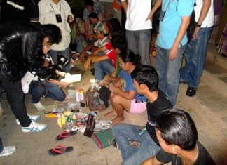 An undercover raid on Walking Street proved that some of the street vendors were selling more than gewgaws, as a small cache of illicit drugs was found.