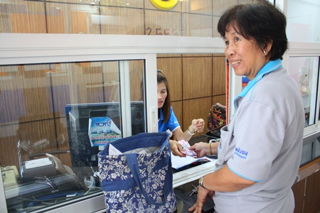 """Banglamung District Office has opened a """"one-stop shop"""" for paying utility and tax bills."""