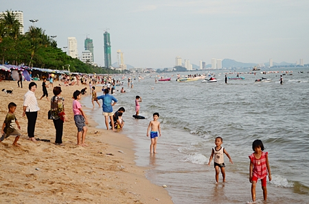 Beaches weren't as full as normal on Labor Day this year, as people are being a lot more careful with their money.