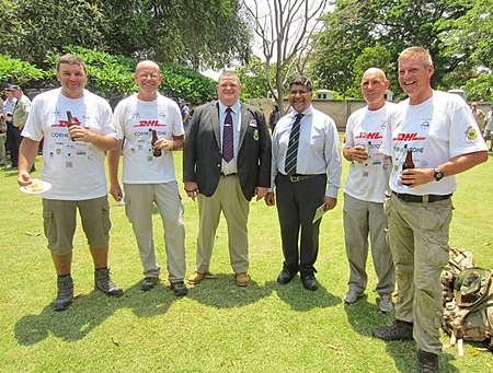 The guys who did the Long March with the British Ambassador.