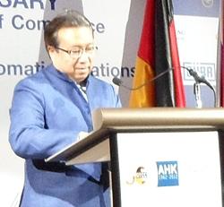 Industry Minister Pongsvas Svasti.