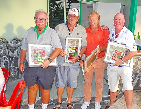 Runners-up: Dave Richardson, Peter Blackburn, Mick O'Connor and Mike Alidi.
