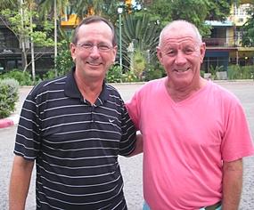 Green Valley winners Mike Missler and Rod Howett.