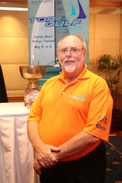 Bill Gasson – founder, President and stalwart supporter of the Top of the Gulf Regatta.