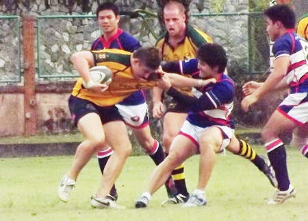 Barbarians and Southerners battle it out in the Cup Final.