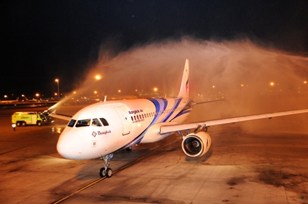 The airlines new service to Kuala Lumpur uses the Airbus 319, all economy class model with the total capacity of 138 seats.
