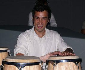 Bongo drummer.