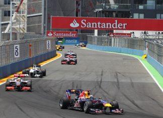 F1 in Valencia.