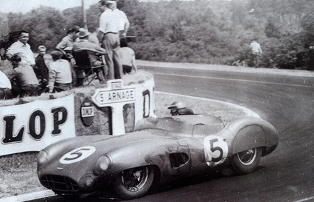Roy Salvadori And Carroll Shelby Meet Up For Another Le Mans Pattaya Mail