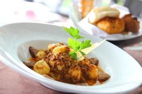 Italian cuisine at The Bay.