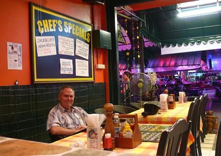 Greg's Kitchen interior.