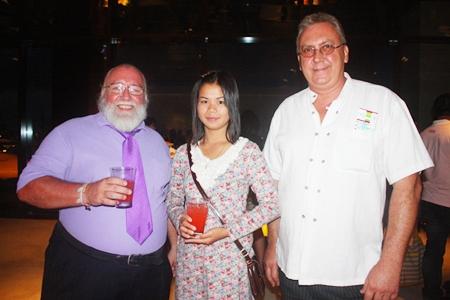 Santa Bill Francis, Ketkaow Siriporntum and Peter Heselwood.