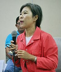 Rao Rak Khao Chamao representative Bupphathip Chaemnil is part of one group trying to stop progress on the Eastern Seaboard.