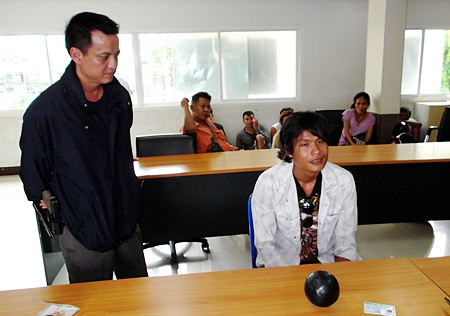 It was only for fun, Sutee Soonthonpakdee told police about the bomb they found under the seat of his motorcycle.
