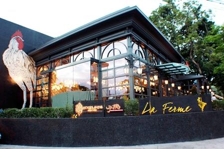 Woodlands Resort Co., Ltd. has opened its newest restaurant, La Ferme, on Naklua Road.