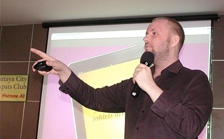 Carl Heaton, founder of WebCourses Bangkok.