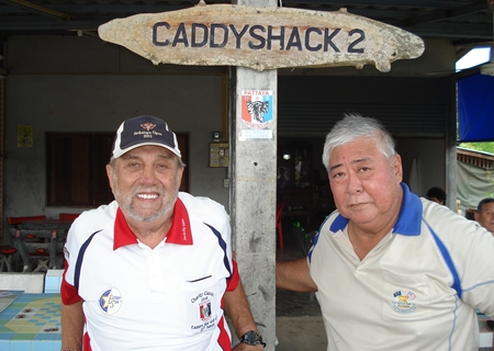 Joe St. Laurent, left, and Herbie Ishinaga.