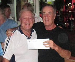 50/50 winner. Alan Sullivan.
